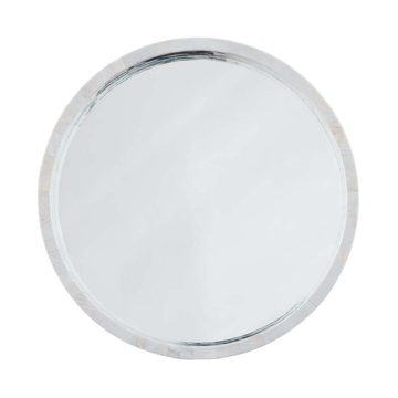 """Picture of MOTHER OF PEARL MIRROR, SM 30"""""""