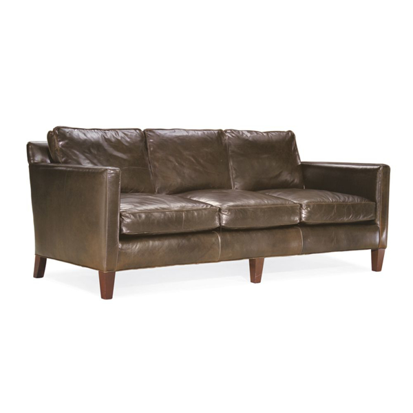 Picture of DUNVEGAN LEATHER SOFA