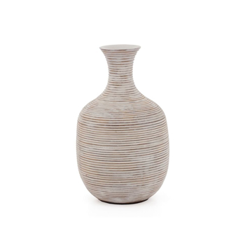 Picture of COLOMBO RIBBED VASE - 9.5