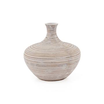 Picture of COLOMBO RIBBED VASE - 6.25