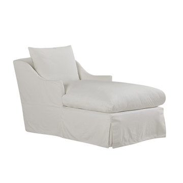 Picture of FARROW SLIPCOVERED CHAISE