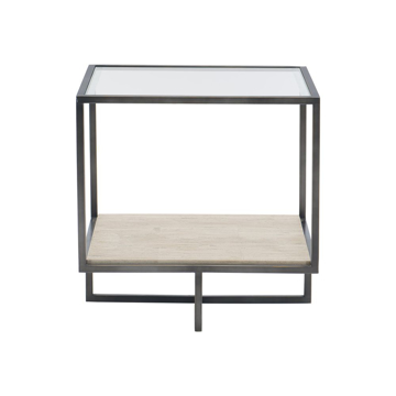 Picture of HARLOW METAL SQUARE END TABLE
