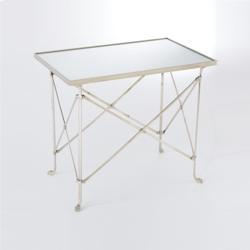 Picture of RECT.DIRECTOIRE TABLE, NICKEL