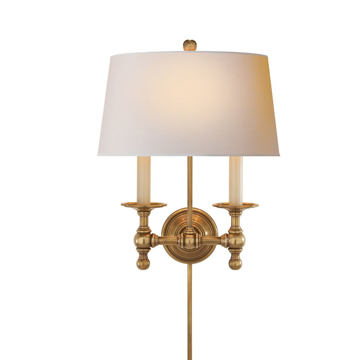 Picture of 2 - LIGHT CLASSIC SCONCE, HAB