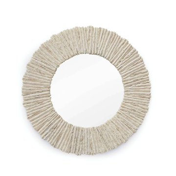 Picture of SLATE ROUND MIRROR