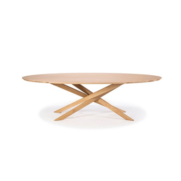 Picture of MIKADO OVAL COFFEE TABLE, OAK