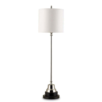 Picture of MESSENGER TABLE LAMP, NICKEL