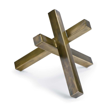 Picture of INTERSECTING SCULPTURE BRASS