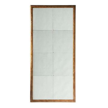 Picture of DUKE FLOOR MIRROR, WEATHERED