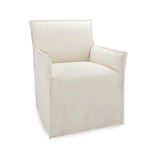 Picture of RILEY SLIPCOVERED ARM CHAIR