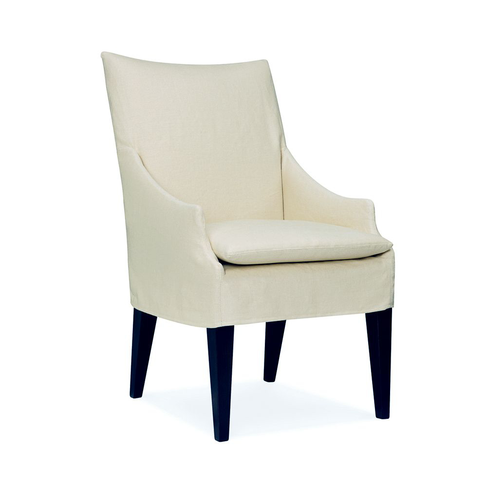 Picture of SLIPCOVERED CAMPAIGN ARM CHAIR