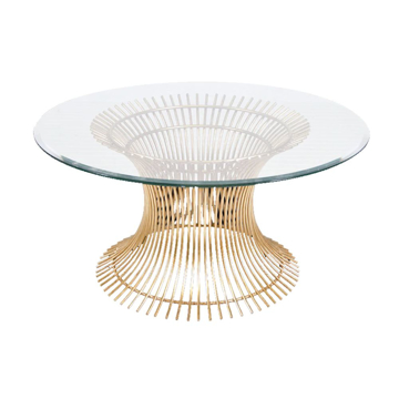 Picture of POWELL COFFEE TABLE, GLD 30