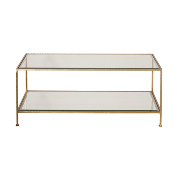 Picture of TAYLOR COCKTAIL TABLE, NICKEL
