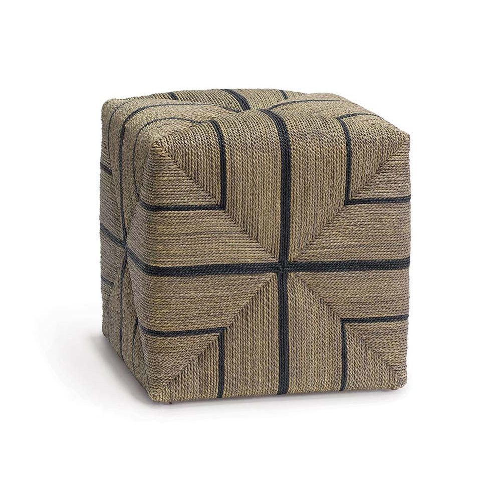 Picture of FRITZ ROPE SQUARE OTTOMAN