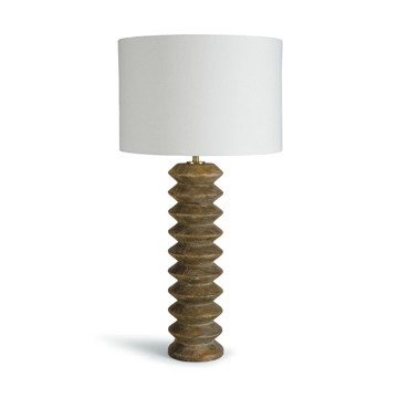 Picture of ACCORDION TABLE LAMP, NAT