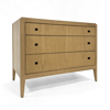 Picture of CHARLES 3-DRAWER DRESSER