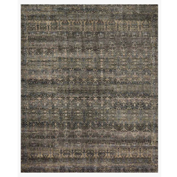 Picture of AMARA RUG, CHARCOAL/LAGOON