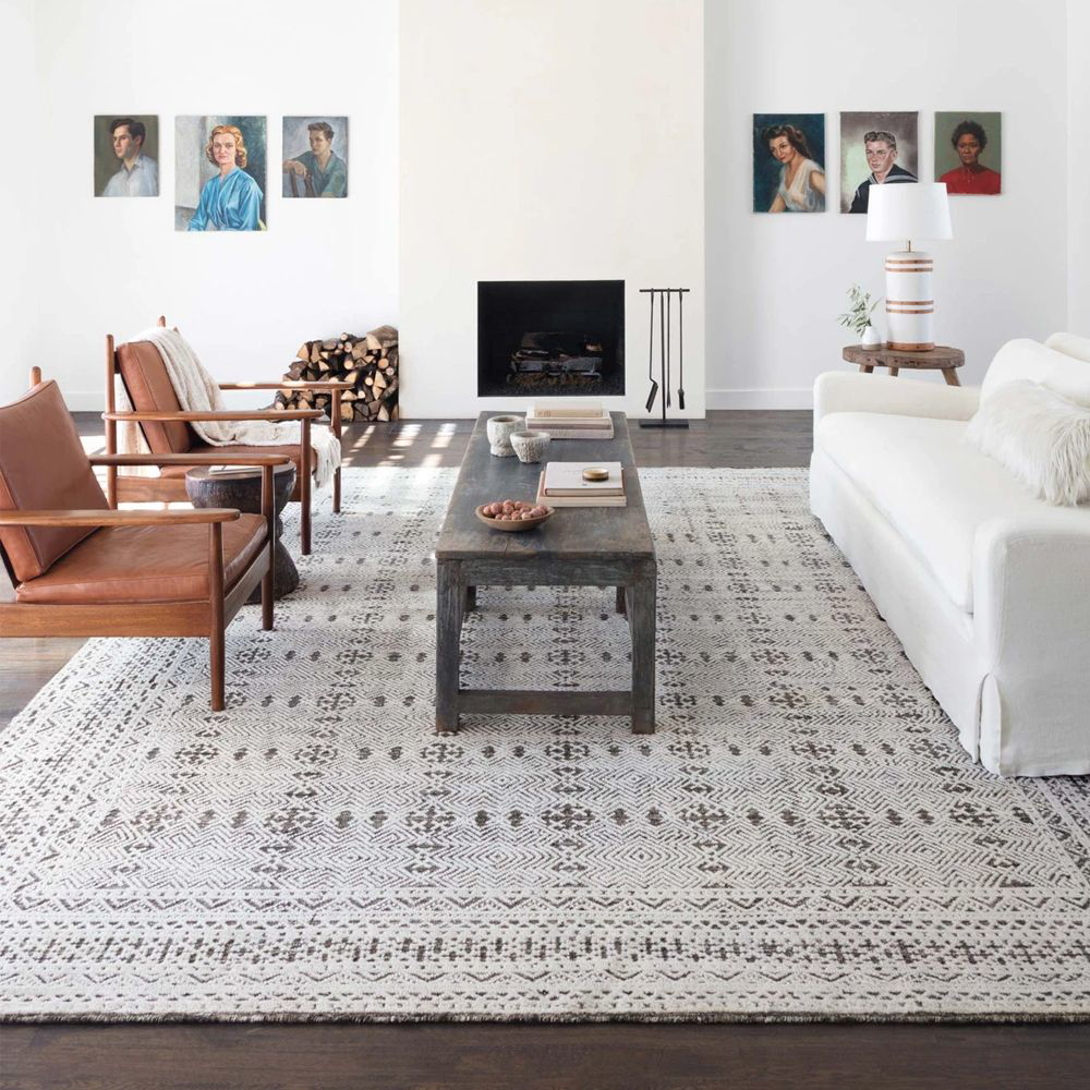 Picture of ORIGIN RUG, GREY/IVORY