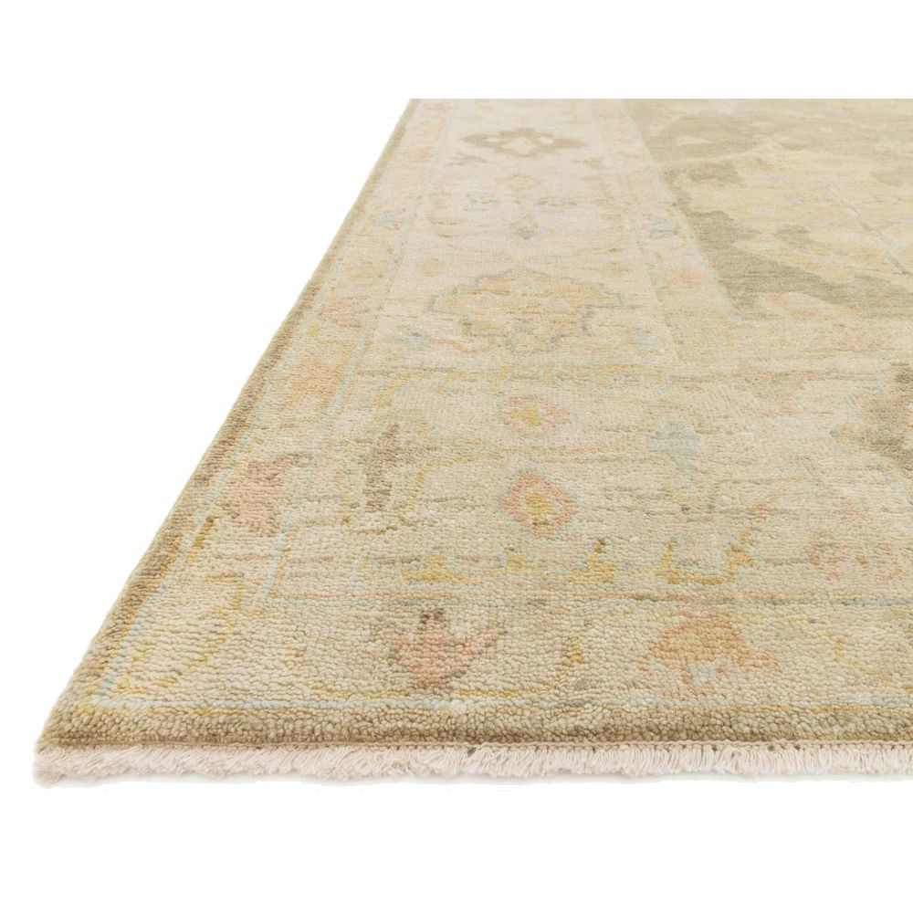 Picture of VINCENT RUG, MOSS GRAY/STONE