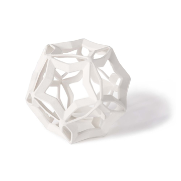 Picture of GEOMETRIC STAR LARGE,WHT