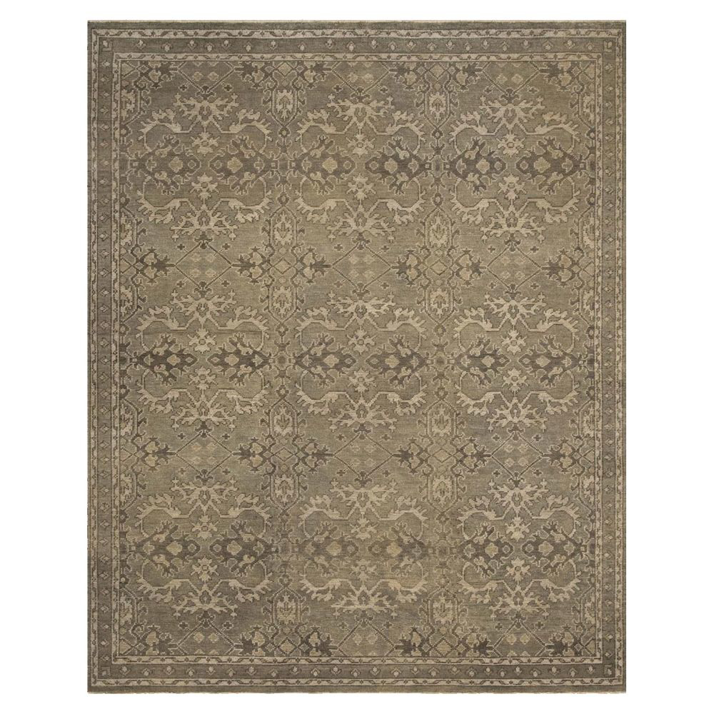 Picture of HEIRLOOM RUG, AQUA/STONE