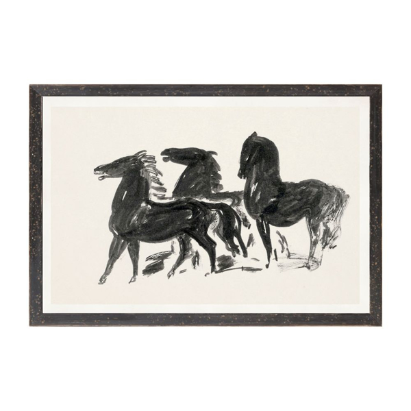 Picture of COLLECTION 12 GESTAL, 3 HORSES