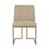 Picture of ASHTON SIDE CHAIR, SATIN BRASS