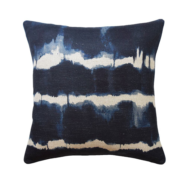 Picture of BATURI PILLOW, 22X22, INDIGO