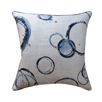 Picture of RETOUCHE PILLOW, 22x22, TEAL