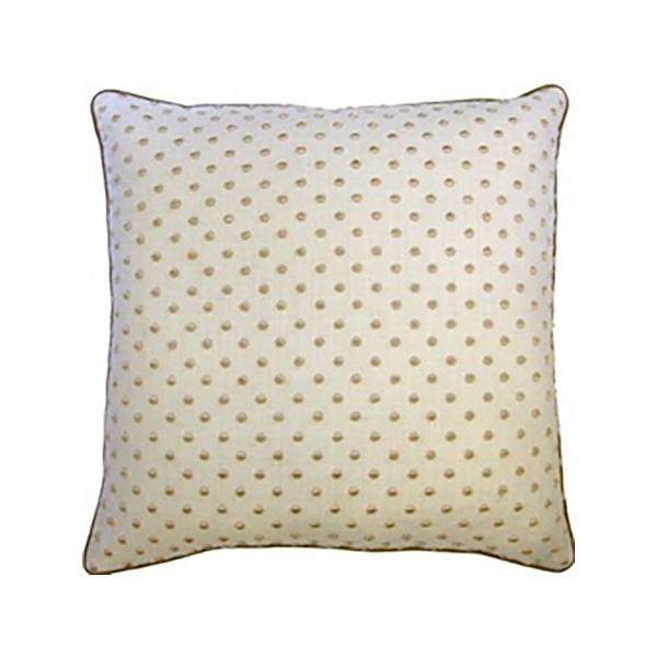 Picture of DOTTI PILLOW, 22X22, STEEL