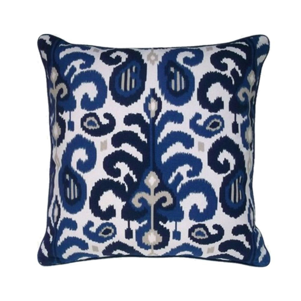 Picture of RASUL PILLOW, 22x22, BLUE
