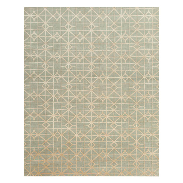 Picture of CROSSHATCH RUG, 8X10 GR/GD