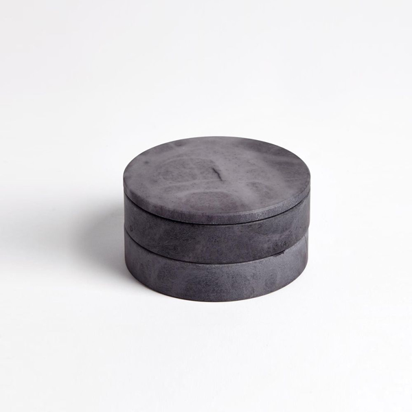 Picture of ALABASTER SWIVEL BOX, GREY