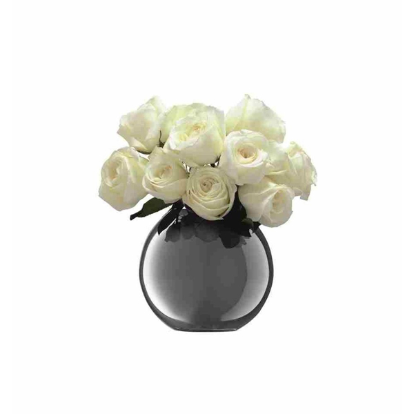 Picture of POLKA VASE PLATINUM, LRG