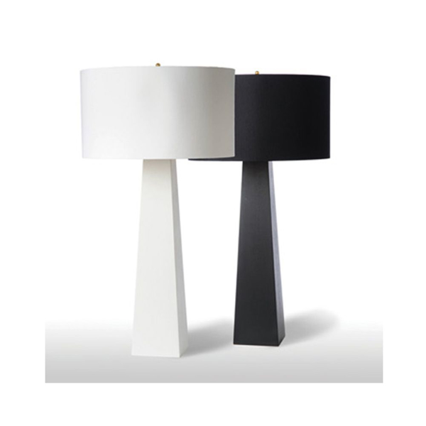 Picture of MONOLITH TABLE LAMP, BLK