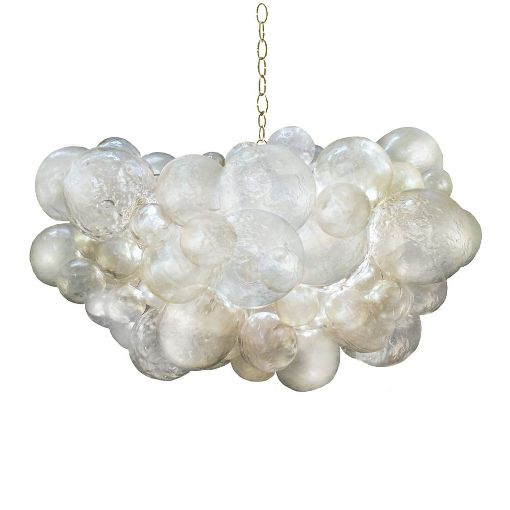 Picture of MURIEL CLOUD CHANDELIER, GOLD