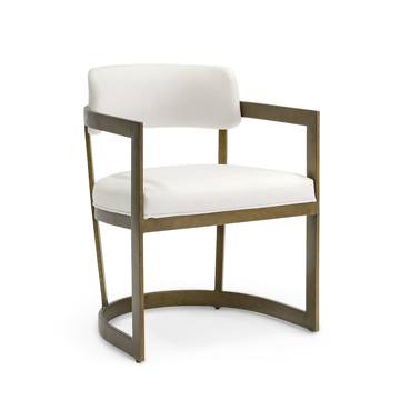 Picture of CONRAD ARM CHAIR, GOLD
