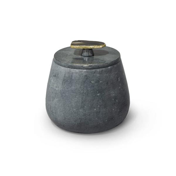 Picture of JASPER SOAPSTONE BOX, MED