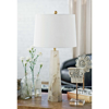 Picture of QUATREFOIL ALB. TABLE LAMP, SM