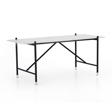 Picture of MONA DESK WHITE TERAZZO
