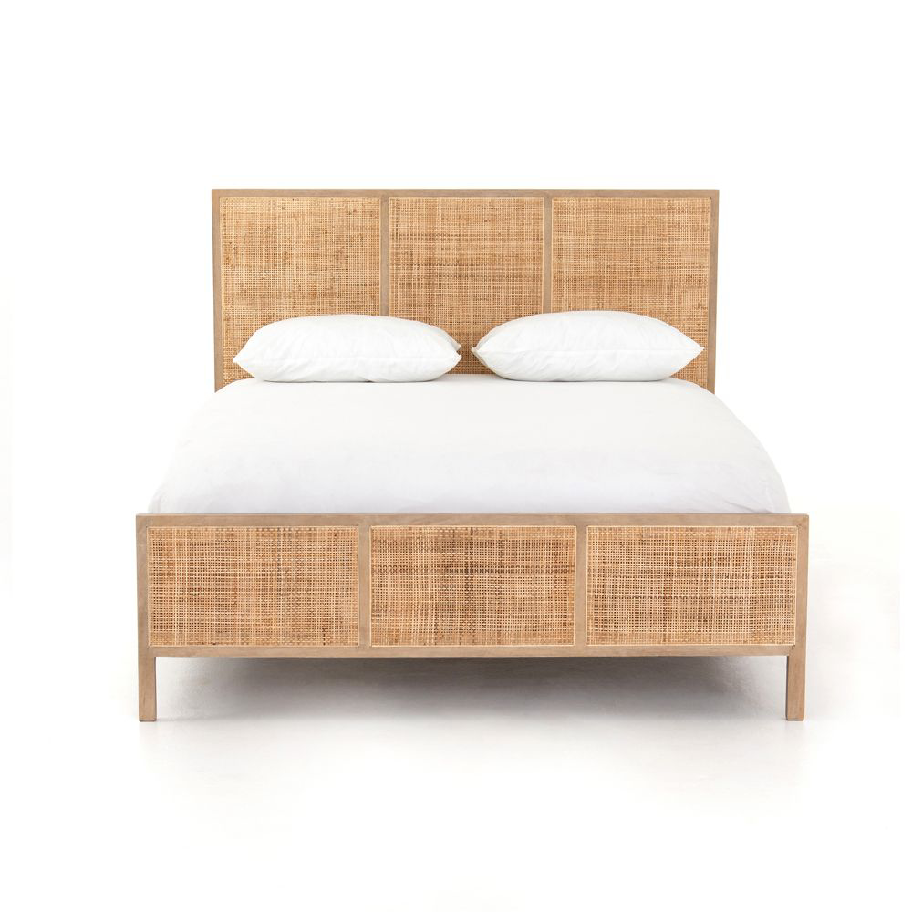 Picture of SYDNEY QUEEN BED, NATURAL