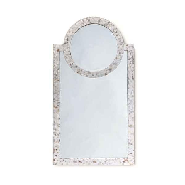 Picture of MOTHER OF PEARL HARBOUR MIRROR