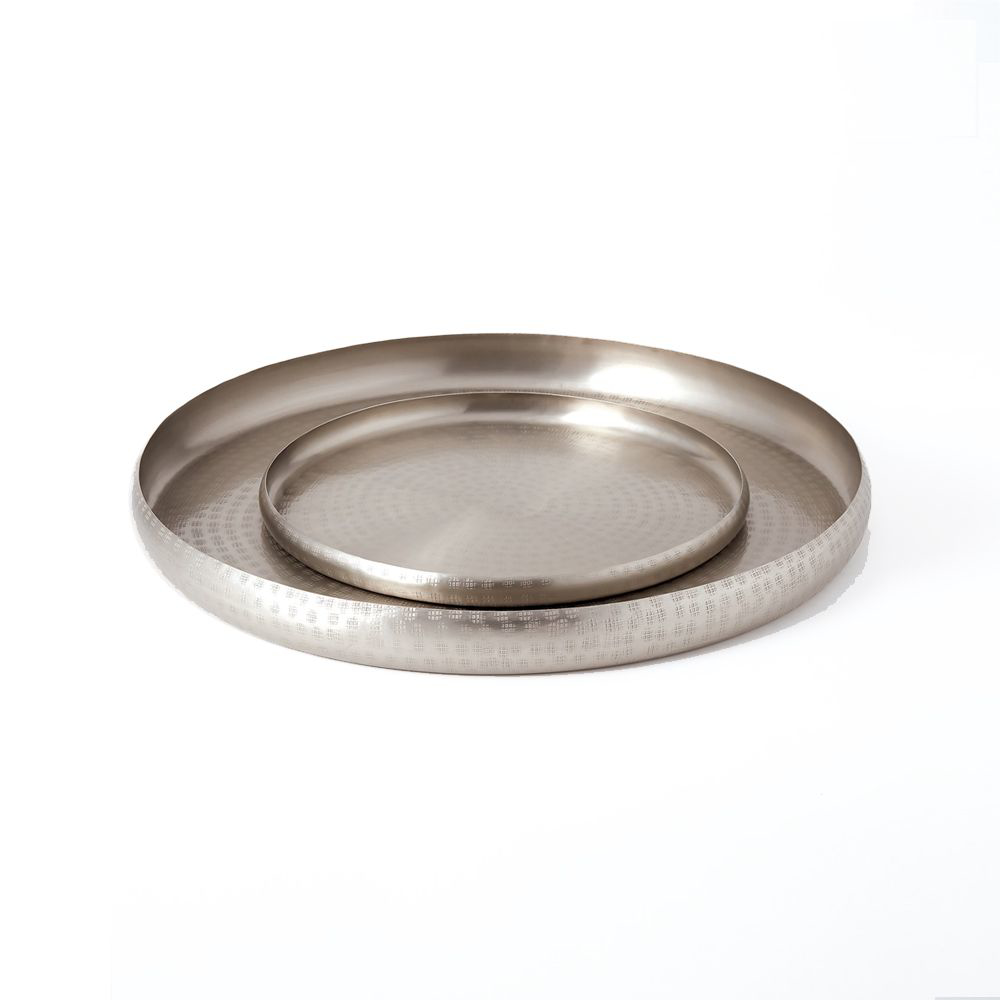 Picture of OFFERING TRAY ANT. NICKEL, SM
