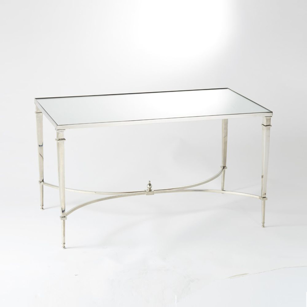 Picture of FRENCH SQ LEG TABLE, NICK/MIR