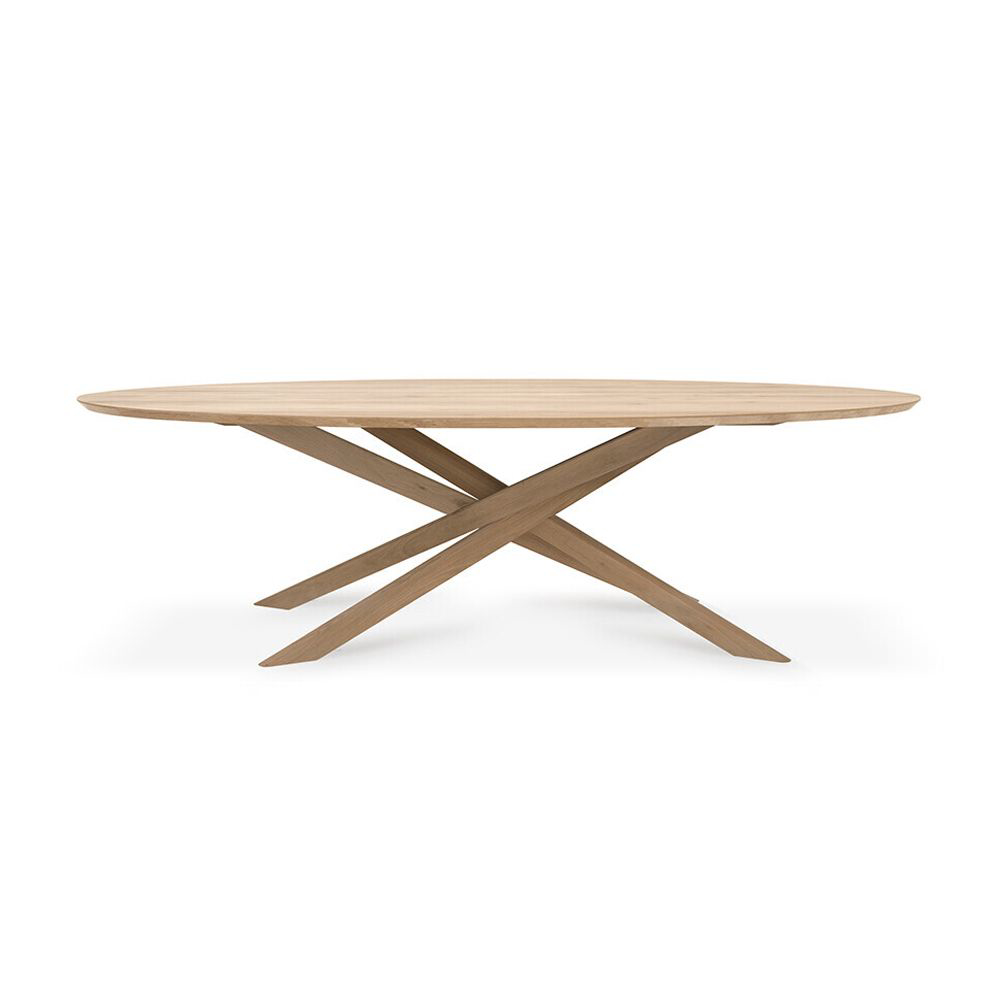 Picture of MIKADO OVAL DINING TABLE, OAK