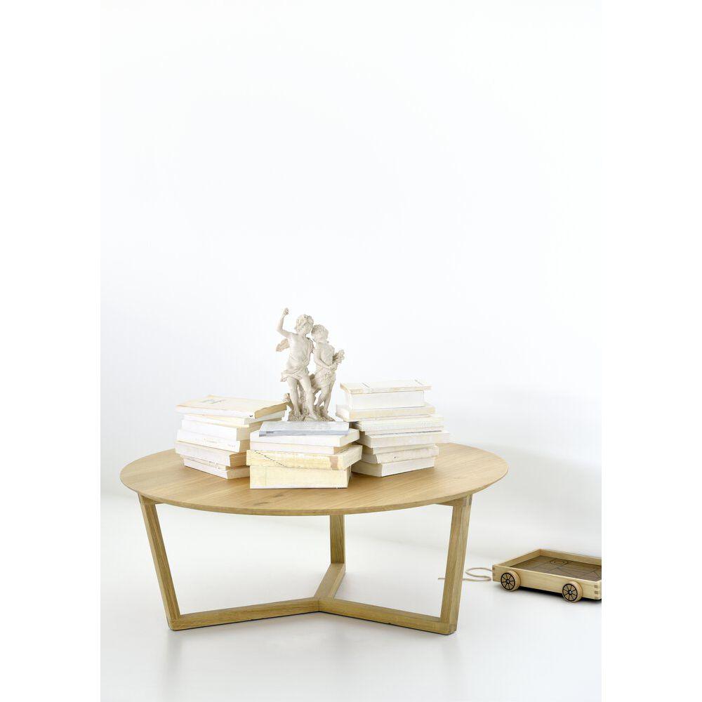 Picture of TRIPOD COFFEE TABLE, OAK