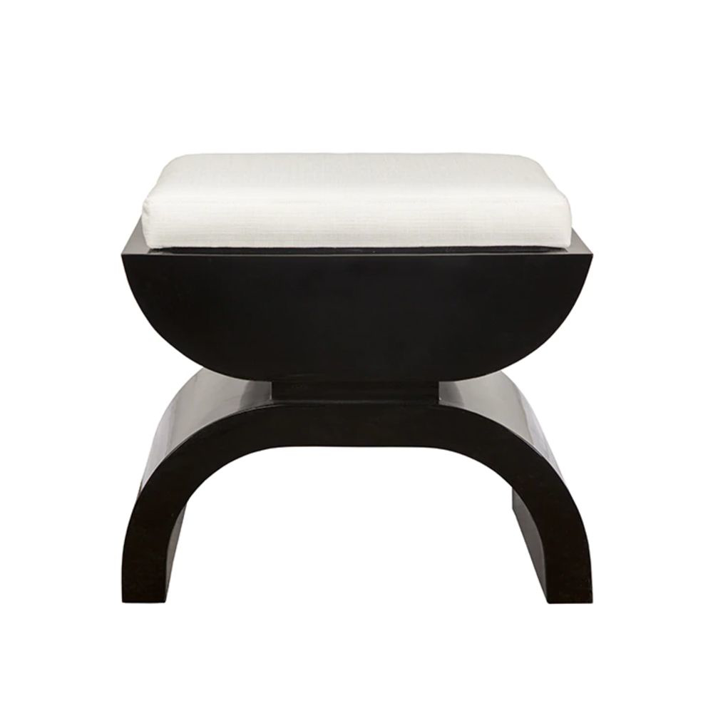 Picture of BIGGS STOOL, BLACK LAQ.