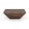 Picture of DRAKE COFFEE TABLE, AGED BROWN