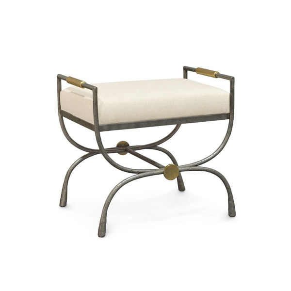 Picture of DEVON UPHOLSTERED METAL STOOL