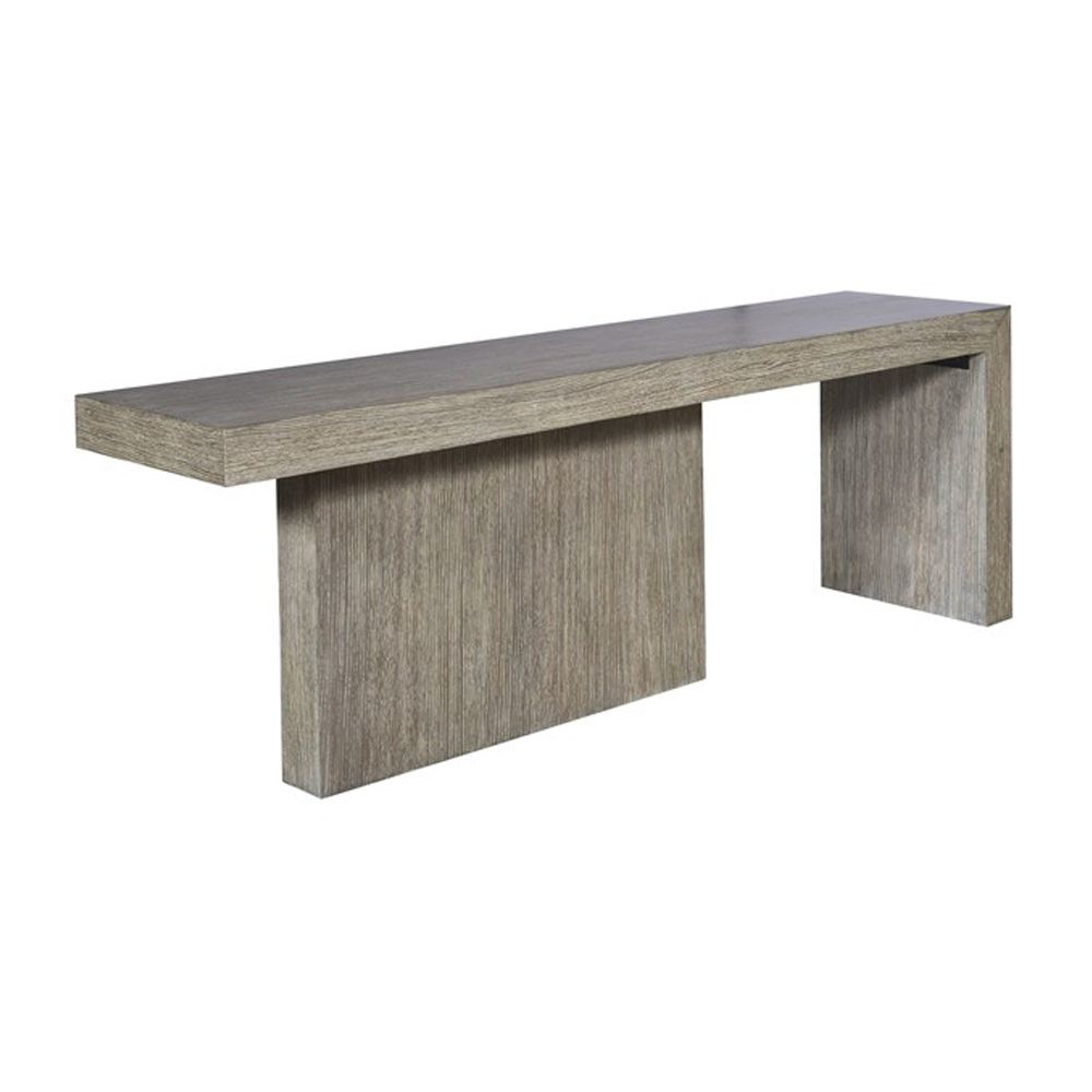 Picture of CLARKE CONSOLE, RAKED GREY